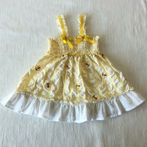 Other - Bumble Bee Sundress Size 12 Month